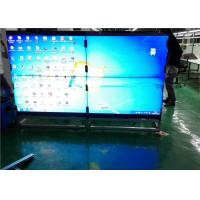 Quality 40 To 55 HD Indoor LED Video Wall Floor Stand With VGA / DVI / HDMI Signal for sale