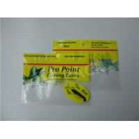 Quality Printed Fishing Bait Soft Plastic Storage Bags With Clear Window And Foil Zipper for sale