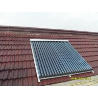 Buy cheap heat pipe solar water heating collector from Wholesalers