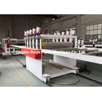 Quality Durable PP Hollow Sheet Extrusion Line Building Construction Formwork Application for sale