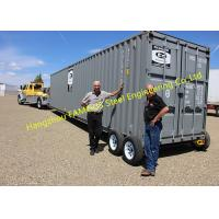 China Modern Design Shipping Prefab Container House On Wheels Tiny Container Home on sale