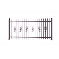 China Metal Ornaments Prefabricated Metal Fence Panels For Garden Decoration on sale