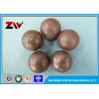Quality SGS verified Forged SAG mill grinding balls for power station and mining for sale