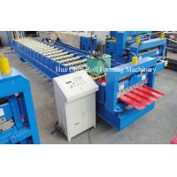 Quality Asia Market 914 Material Roof Sheet Making Machine With SImens PLC Control for sale