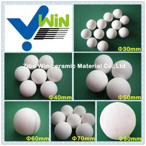 Quality Alumina ceramic grinding pebble milling media for sale