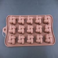 China 100% food-grade silicone material new design flower shape silicone chocolate candy molds wholesale on sale
