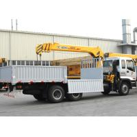 Quality Durable Cargo Mobile Truck Loader Crane With 55 L/min Max Oil Flow for sale