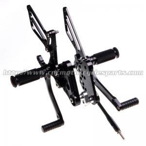 Quality CNC Aluminum Parts Motorcycle Rear Sets Footrests For Suzuki GSX for sale