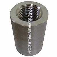 Quality Forged Stainless Steel Coupling Equal Shape SS Pipe Fitting CL300 for sale