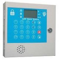 Quality Portable SIMCOM900B 1800Mhz Remote Control Two Way Voice Wireless / Wired GSM Alarm System for sale