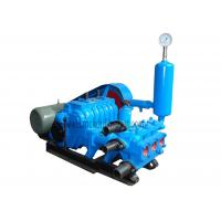 China BW250 Oil Drilling Mud Pump Diesel Mud Pump High Pressure For Water Well Drilling Rig on sale