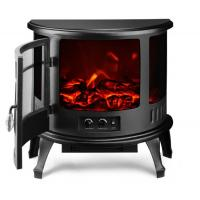 Quality Cast Iron Small Portable Wood Burning Stove Near Stainless Steel Framework for sale