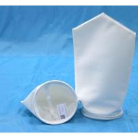 China Needle Felt 1, 25, 125 Micron Polyester Filter Bags, Dust Collector filtration Bag on sale