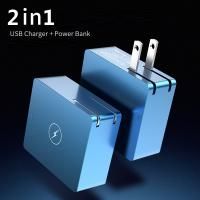 Quality Mini Portable Iphone Battery Replacement 2 In 1 USB Charger Power Bank 5000mAh for sale