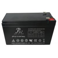 Quality SLA Rechargeable 12 Volt 7 Amp Battery For Alarm System High Strength ABS Material for sale
