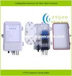 Quality FTTH Terminal Box Fiber Optical Equipment FTB-104C for sale