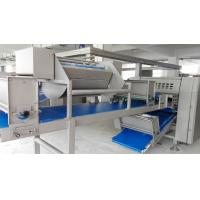 China Abrasive Blast Puff Pastry Machine For Palmier Pastry with  1000 - 20000 Pcs / Hr on sale