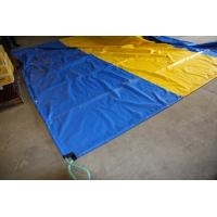 Buy Custom Heavy Duty Tarpaulin PVC For Truck Or Train Covers , High Tensile at wholesale prices