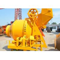 Quality JZC350 Hydraulic Portable Concrete Mixer , Electric Small Stone Cement Mixer for sale