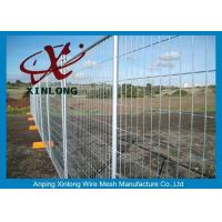 Quality Security Temporary Fencing Panels Welded Wire Mesh Fence Metal Base Temporary Site for sale