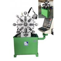 Buy 380V Computerized Wire Bending Machine With 1 KW Cutter And Angle Rotor at wholesale prices