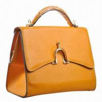 Buy cheap Genuine Leather Handbag in Fashionable Design, Various Colors are Available from wholesalers