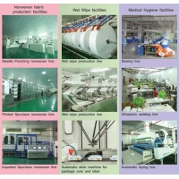 Quality Customize Needle Punching Nonwoven Medical And Hygiene Product One Stop Service for sale