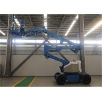 Quality Full Hydraulic Indoor Boom Lift Excellent Carrying Capacity Multifunctional for sale