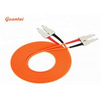 Quality SC - SC Multi Mode Fiber Optic Patch Cord Good Exchangeability Jumper Cables for sale