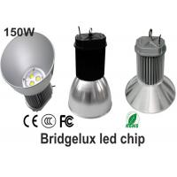 Cold White 150 Watt Led High Bay Light waterproof With Black And Silver Shell