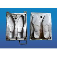 China Single Color Rubber Sole Mold , Causal Shoe Making Mold High Precision on sale