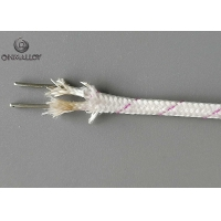 Quality 1000℃ KX-VS-VS-0.81 Vitreous Silica Insulated Thermocouple Cable Type K Wire for sale