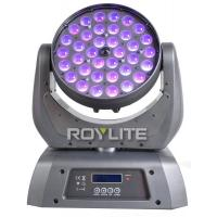 Buy 10°- 60° Zoom LED Wash Moving Head 36 Units 10w RGBW Quad High Power at wholesale prices