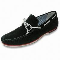 Quality Men's Casual Shoes, Uses Suede Leather Upper, Available in Gray for sale