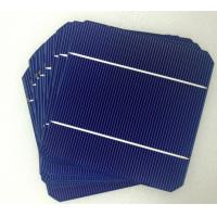 China Mono 125*125mm solar cell,monocrystalline silicon solar cell for cheap sale on sale