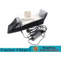 China Electric Control Casino Card Shoe Built - In High Speed Recognition Sensor on sale