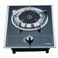 Quality Single-head Gas Stove with Auto Impulse Ignition, Measures 330 x 430mm for sale