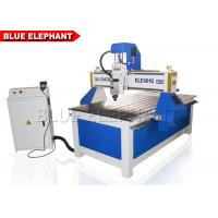 Quality ELE 9015 Aluminum Cutting Machine , advertising 4 axis wooden door cnc router with CE certificate for sale