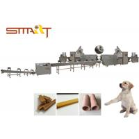 Quality SS Material Automatic Dog Chew Bones Production Machine CE / ISO Certificated for sale