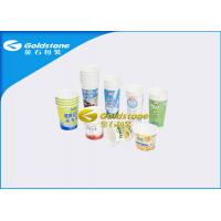 Quality Various Specification Plastic Yogurt Cups For Fresh Milk / Desserts / Ice Cream for sale