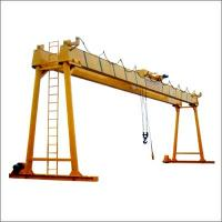 Quality 10 ton Single girder overhead crane in textile industry for sale