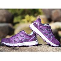Lightweight Couple Sport Shoes , Pink /  Purple Cross Country Running Shoes