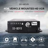 Quality Small Size Black Video Recorder 8 Channel HD 720P SD Card MDVR With GPS 4G for sale