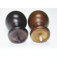 Eco - Friendly Sphere Wood Replacement Furniture Legs For Table 90 X 140 mm