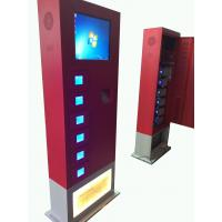 China Universal Cell Phone charging kiosk 19'' touch screen High Capacity on sale