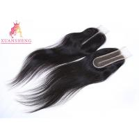 Quality Body Wave Kim Closure 2x6 Lace Closure Natural Color Remy Closure 12-18inch for sale