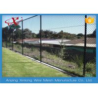 Quality 1.8 - 4.5mm Diameter Chain Link Fence With 35 * 35 Aperture For Playground for sale