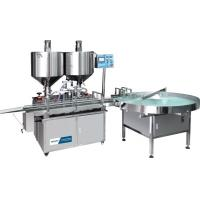 China Cream Paste Four Head Cosmetic Filling Machine on sale