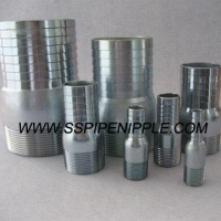 Buy cheap 1 Inch Galvanized ASTM A53 KC Nipple/Hose Nipple/Hose Mender NPT from wholesalers