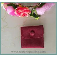 fabric button pouch, velvet button pouch bag, velvet pouch with button